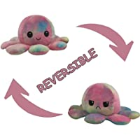 Cute Octopus Plush Toy Reversible Double-Sided Flip Octopus Doll, Happy and Sad Octopus Stuffed Animals Doll, Creative…