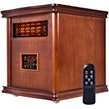UBRTools 1800 Sq. Ft Infrared Electric Portable 1500W Heater Quartz Heater W/Remote