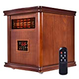 New MTN-G 1800 Sq. Ft Infrared Electric Portable 1500W Heater Quartz Heater W/Remote