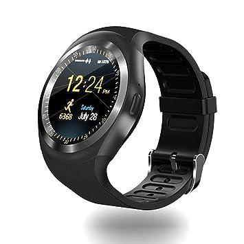 CQ Bluetooth Y1 Smart Watch Android Smartwatch Llamada De ...
