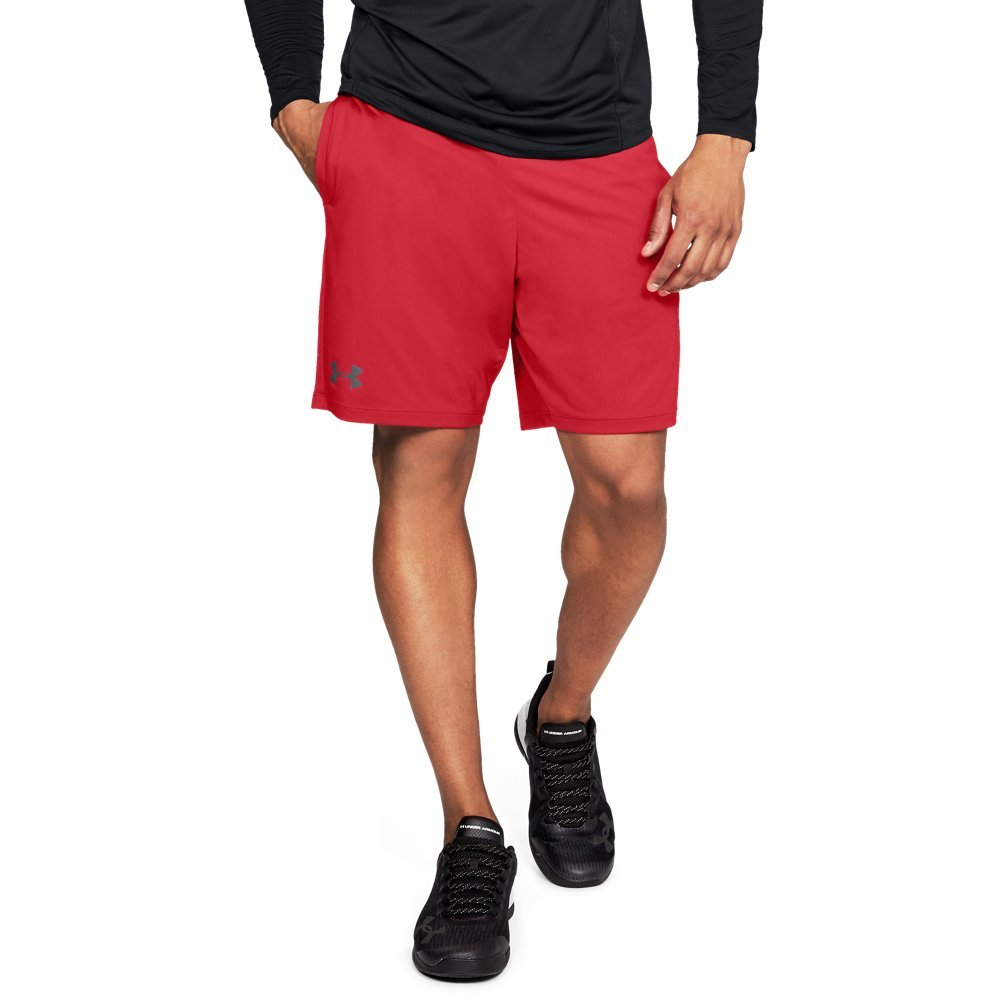 Under Armour mens MK1 Shorts, Pierce (629)/Graphite, Small by Under Armour