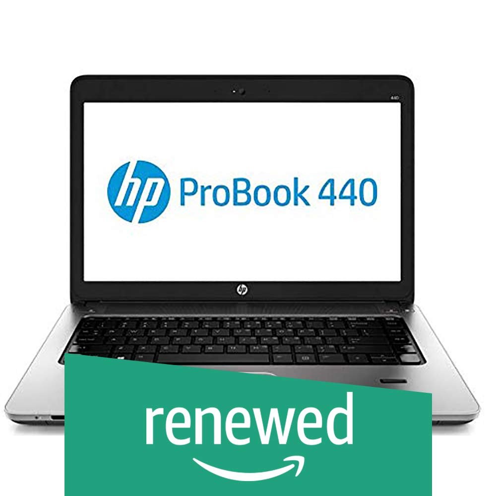 (Renewed) HP Probook 440G1-i5-8 GB-1 TB 14-inch Laptop (4th Gen Core i5 4210M/8GB/1TB/Windows 7/Integrated Graphics), Black