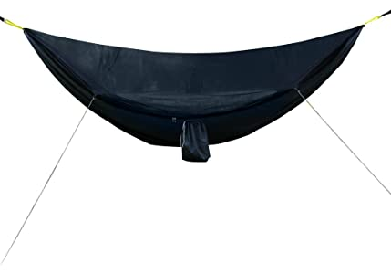 outfitters camping hammock with built in mosquito   black amazon     go  outfitters camping hammock with built in mosquito      rh   amazon