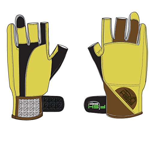 - Fish Monkey Gloves Heavy Weight Wiring Gloves, Large, Charles Perry