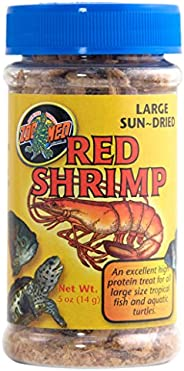 Zoo Med Sun Dried Jumbo Red Shrimp