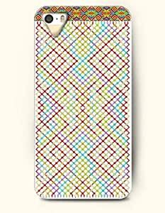 SevenArc Aztec Indian Chevron Zigzag Native American Pattern Hard Case for Apple iPhone 5 5S ( iPhone 5C Excluded...