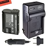 BM Premium EN-EL15 Battery And Battery Charger for Nikon 1 V1, D600, D610, D750, D800, D810, D810A, D7000, D7100, D7200 Digital SLR Camera + More!!