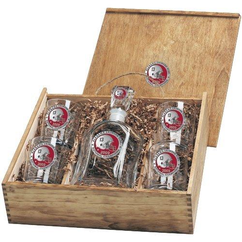 (Pewter University of Alabama National Champions Capitol Decanter Box Se)