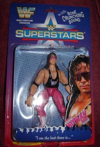WWF Bret Hart Wrestling figure by Jakks WWE - Wwf Wwe Jakks Figure