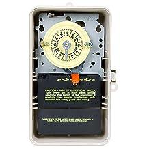Intermatic T104P3 Intermatic Inc Timer Indoor/Outdoor 220V Plas