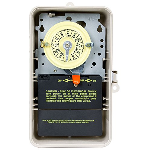 Intermatic T104P3 208-277 Volt DPST 24 Hour Mechanical Time Switch ()