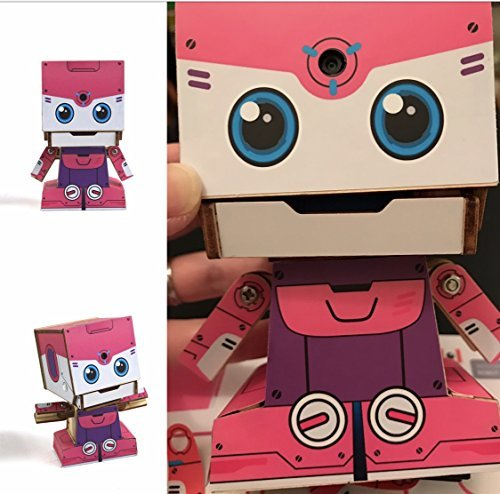 MU SpaceBot - Rey: Wooden Interactive Robot DIY Kit (Bluetooth) | USPS priority 2-3 days shipping US - Day 2 Shipping 3 Usps