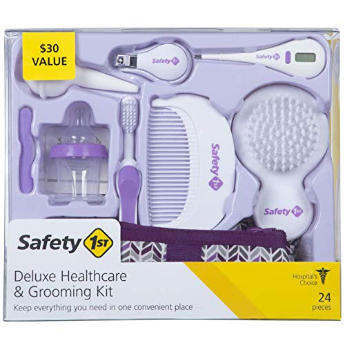 Safety 1st Deluxe Healthcare & Grooming Kit, Pyramids Grape Juice, Pyramids Grape Juice, One Size from Safety 1st