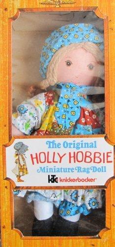 Knickerbocker The Original HOLLY HOBBIE Miniature RAG DOLL 8