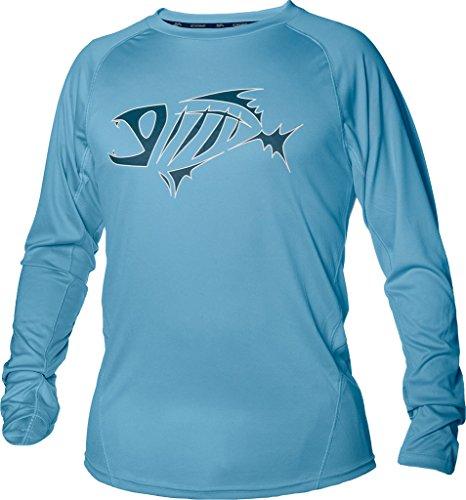 G. Loomis URSO Tech Long Sleeve Shirt - Light Blue - 2XL