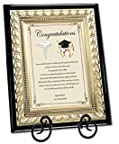 Personalized Medical School Optometry Dental Pharmacy Graduation Present Doctor Physician Graduate Gift Wood Poem Plaque Gold Metal Designer Border Iron Easel