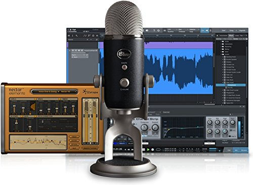 Blue Yeti Pro Studio All-In-One Pro Studio Vocal System with Recording Software