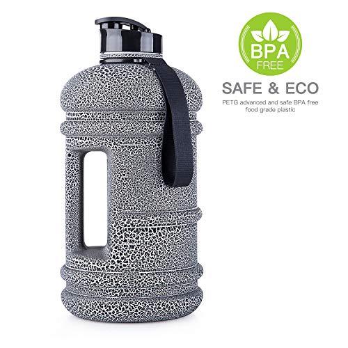 TOOFEEL 2 2L Big Water Bottle Water Jug 73OZ Large Water Jug