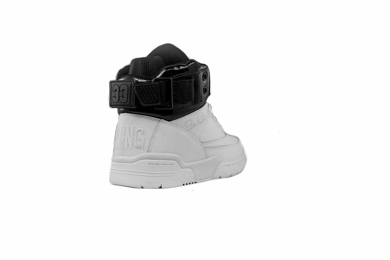 PATRICK EWING ATHLETICS 33 HI White/Black Patent 1EW90190-112: Amazon.ca:  Shoes & Handbags