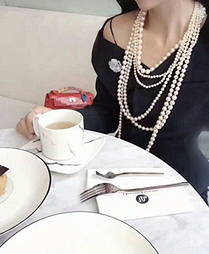 Generic Limited_high-end_ custom _luxury_ pearl _multi-layer_ pearl _for_centuries_ZhangYuQi_same_paragraph_ sweater chain pearl necklace pendant