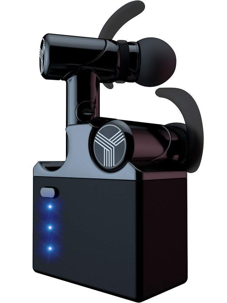 TREBLAB X2 - 革新的なBluetoothイヤホン ベリリリウムスピーカー付き 3Dサウンド品質 最高の真のワイヤレスイヤホン ノイズキャンセ 革新的なBluetoothイヤホン ベリリリウムスピーカー付き ブラック B07Q3XYDG4 Double black