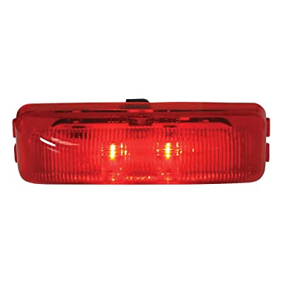 Grand General 76402 Red Medium Fleet Rectangular 2-LED Sealed Light: Automotive