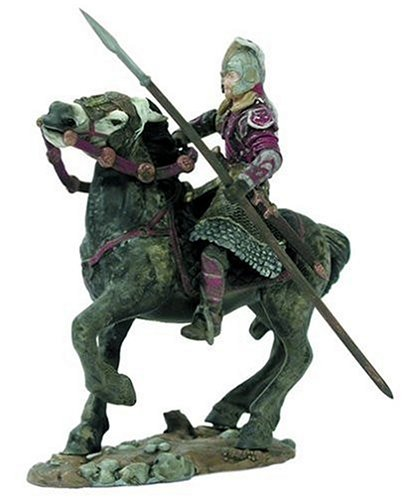 Lord of the Rings Armies of Middle Earth Deluxe Figure: (Horseback Statue Figure)