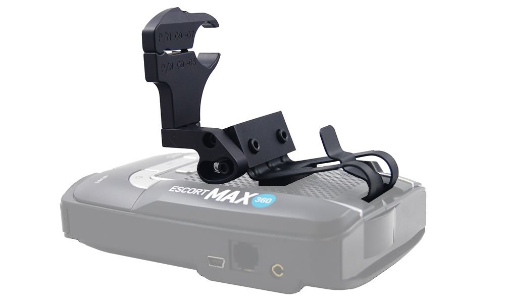 BlendMount BMX-2017 Radar Detector Mount for your Escort MAX360, MAX2, MAX, Bel GT-7