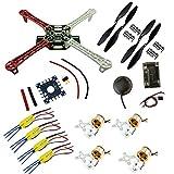 Shaluoman DIY F450 Quadcopter Kit & APM2.8 FC &NEO-6M GPS &XXD 1000KV Motor& 30A ESC
