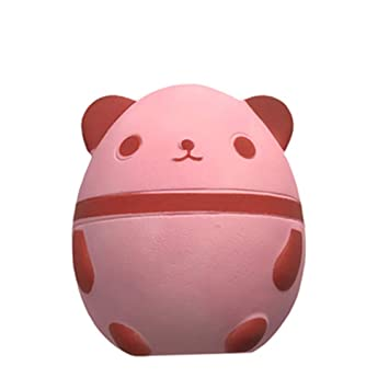 Adeeing Kids Stress Reliver Cute Temperature Sensing Panda Egg Shape Squishy Toy Decor