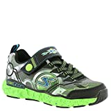 Skechers Kids Boys' Cosmic Foam-Futurist Sneaker,Black/Lime,13 M US Little Kid