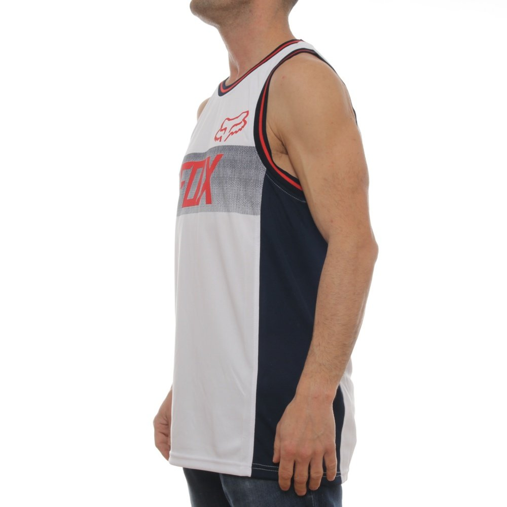 Amazon.com: Fox - Mens Disposition Tank Top, Size: Large, Color: OpticWhite: Clothing