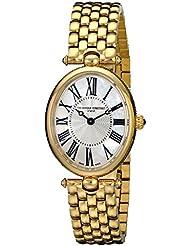 Frederique Constant Womens FC-200MPW2V5B Art Deco Classics Analog Display Swiss Quartz Gold Watch