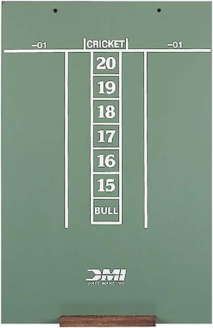 Amazon Com Dmi Dart Scoreboard Chalkboard For Cricket 01 Sports Outdoors