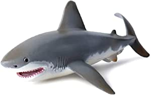 Fishoo Lifelike Shark Shaped Toy Realistic Motion Simulation Animal Model for Kids Children