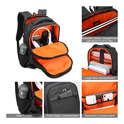 WindTook Laptop Backpack 15.6inch with USB Charging Port