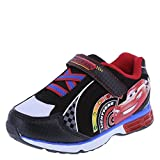 Cars Boys' Black Boys' Cars Lighted Runner 10 Regular