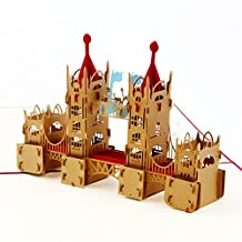 Tower Bridge RED 3D Pop Up Greeting Cards Anniversary Baby Birthday Easter Halloween Children's Mother's Father's Day Home New Year Thanksgiving Christmas Valentine Wedding