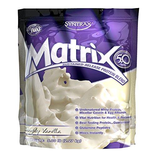 Syntrax Innovations Matrix Powder, Simply Vanilla, 5-Pound B