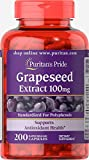 Puritans Pride Grapeseed Extract 100 Mg, 200 Count
