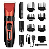 Hair Clipper Trimmer Cordless Cutting Grooming Kit with LCD Display,Two Rechargeable & Replaceable Batteries,Stainless Steel Blades for Men & Women -ELEHOT