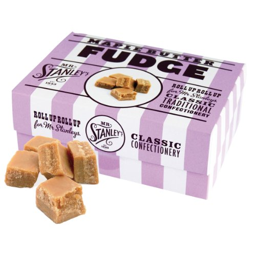Mr. Stanley's Maple Fudge Geschenkbox, 2er Pack (2 x 200 g)