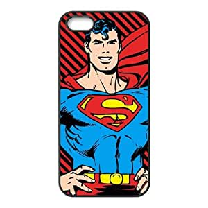 iPhone 5 5s Cell Phone Case Black Red And Black Striped Superman KOS_382313