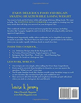The Essential Keto Cookbook 124 Ketogenic Diet Recipes Including Keto Meal Plan Food List Amazon Co Uk Hendon Louise Kelly Christopher Hendon Jeremy Books