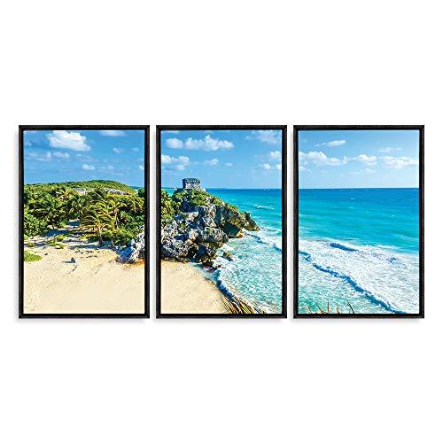 Framed for Living Room Bedroom Scenery Theme for ation x3 Panels