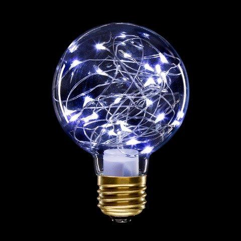 Gls Bulb - Better Crafts BULB GLS MOON LIGHTS G80 1.0W E26 C WHT (1 pack) (0300244750)