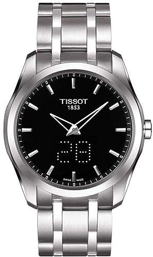 Tissot Couturier secreto FECHA pantalla Digital reloj para hombre t035.446.11.051.00: Amazon.es: Relojes