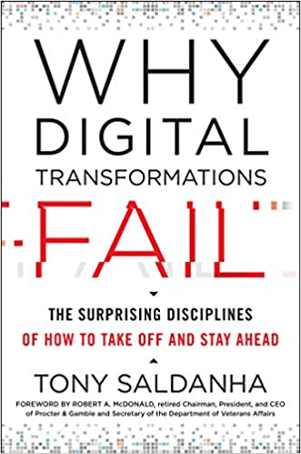 Why Digital Transformations Fail: The Surprising Disciplines of How to Take Off and Stay Ahead Hardcover – July 23 2019 Image