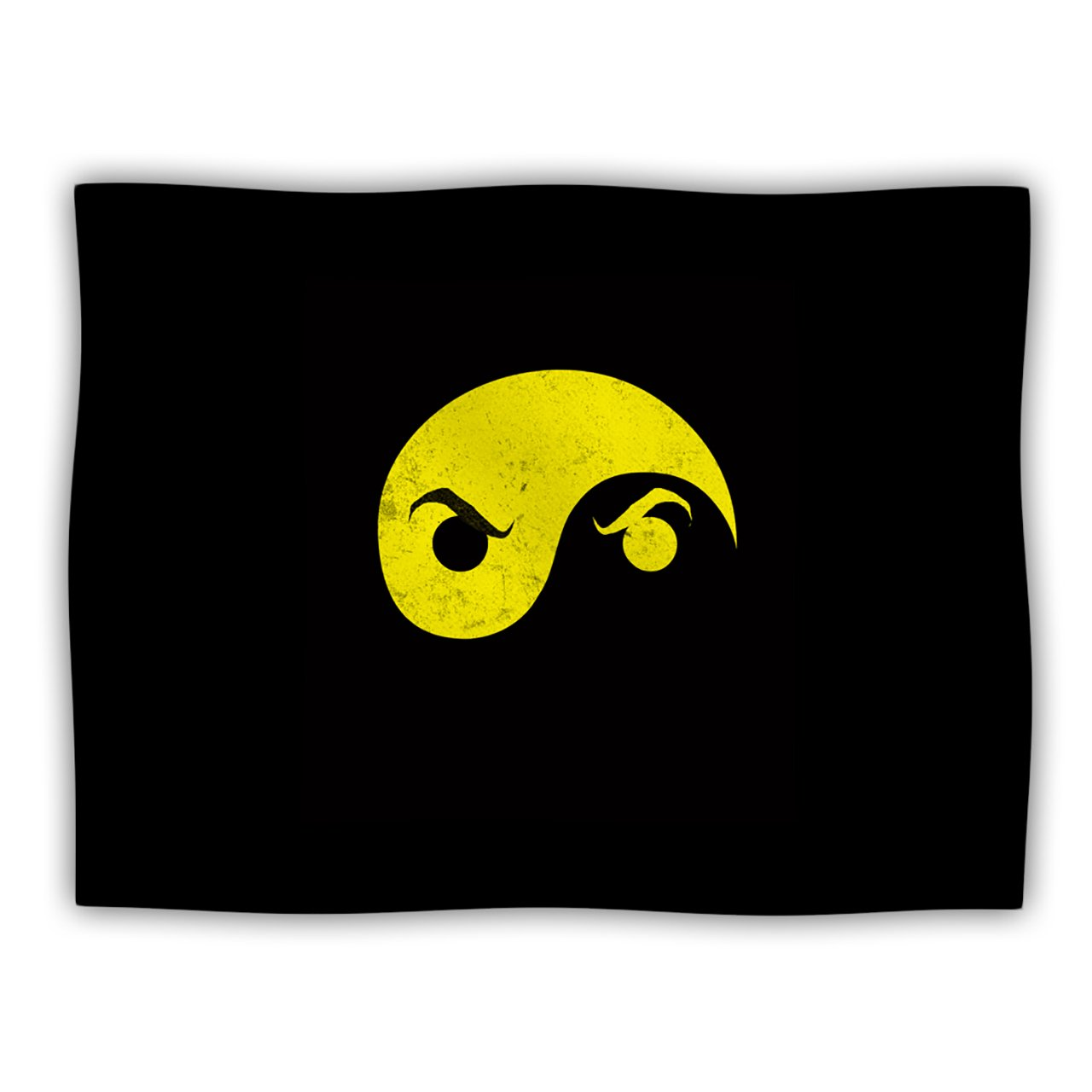 Kess InHouse Frederic Levy-Hadida Yin Yang Ninja  Pet Blanket, 40 by 30-Inch