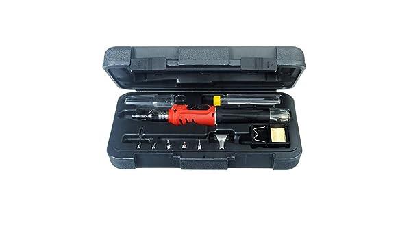 C & C Products HS-1115 K 10 en soldador sin - inalámbrico soplete Tool Kit: Amazon.es: Electrónica